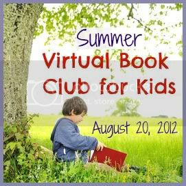 August Summer Virtual Book Club, early literacy, reading, book club