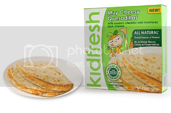 products frozen quesadilla lg Kidfresh Meals